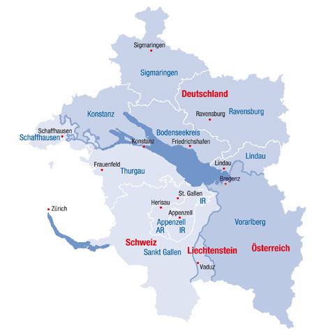 The Regional Brand Four Country Region Around Lake Constance